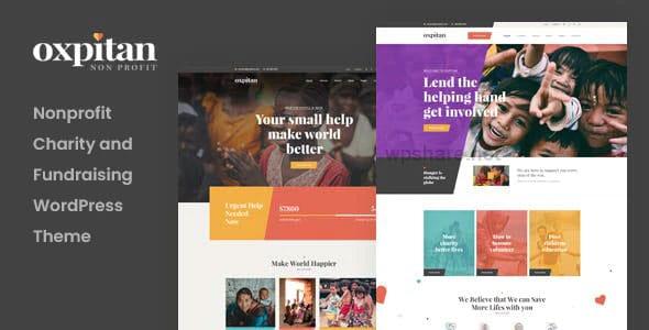 Oxpitan 1.0.8 – Nonprofit Charity WordPress Theme
