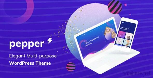 Pepper 1.5 – Elegent Multi Purpose WordPress Theme