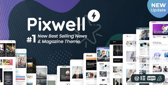 Pixwell 6.0 – Modern Magazine