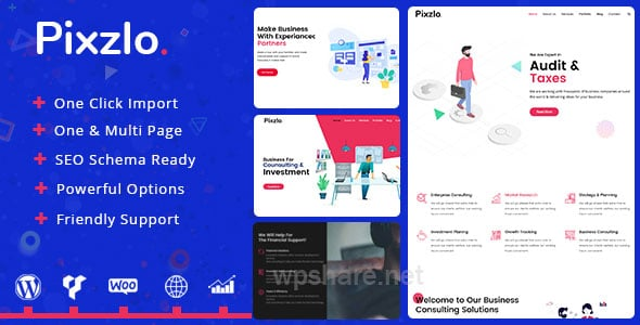 Pixzlo 1.1.2 – Creative Theme for Professionals