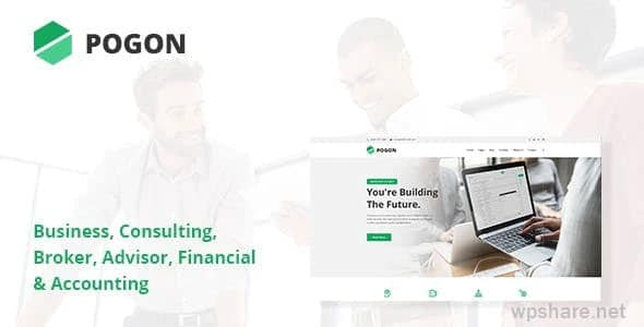Pogon 1.0.8 – Business and Finance Corporate WordPress Theme