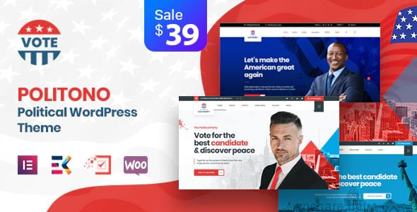 Politono 1.9 – Political Election Campaign WordPress Theme