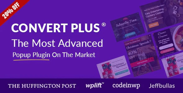 Popup Plugin For WordPress – ConvertPlus 3.5.17