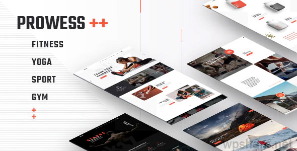 Prowess 1.8.1 – Fitness and Gym Theme