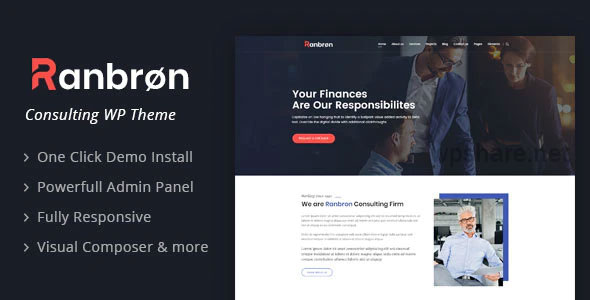 Ranbron 2.3 – Business and Consulting WordPress Theme