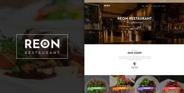 Reon 1.1.4 – Restaurant WordPress Theme