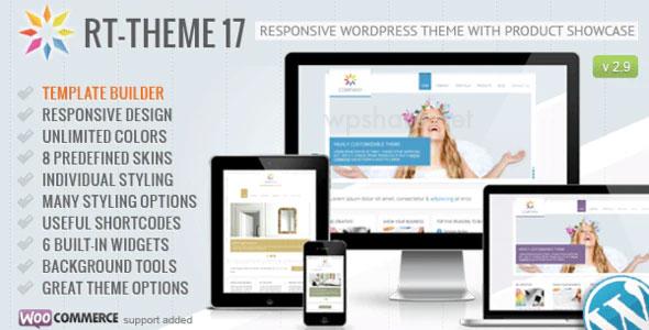 RT-Theme 17 v2.9.9 Responsive WordPress Theme