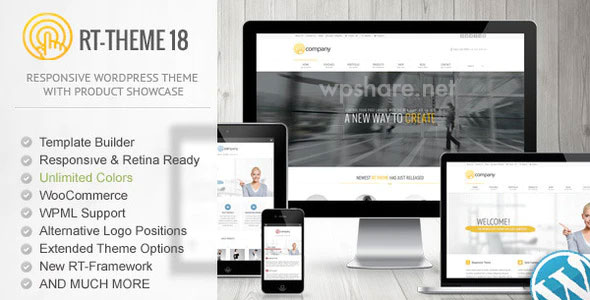 RT-Theme 18 v2.3 Responsive WordPress Theme
