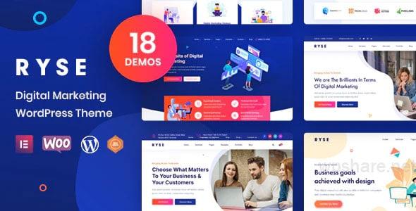 Ryse 3.0.0 – SEO & Digital Marketing WordPress Theme