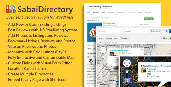 Sabai Directory 1.4.10 – Business directory plugin for WordPress