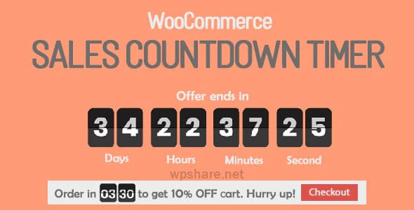 Sales Countdown Timer for WooCommerce and WordPress v1.0.1.4