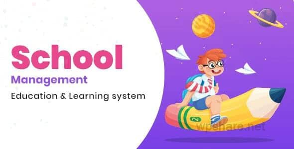 School Management 7.7 – Education & Learning Management system for WordPress