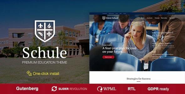 Schule 1.0.9 – School & Education Theme
