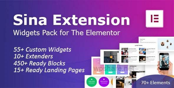 SEFE 1.9.0 – Sina Extension for Elementor