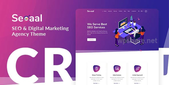 Seoaal 1.0.5 – SEO & Digital Marketing WordPress Theme