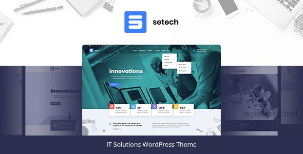 Setech 1.0.3 – IT Services and Solutions WordPress Theme