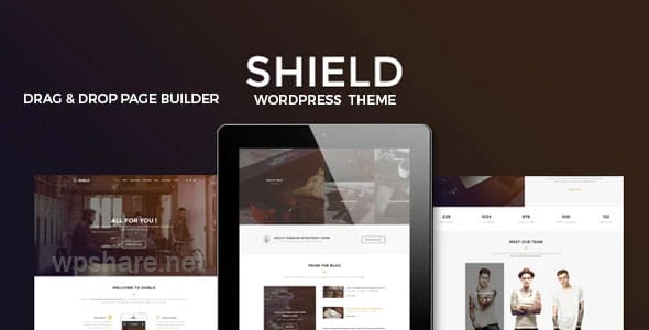 Shield v1.0.4 – A Creative WordPress Theme