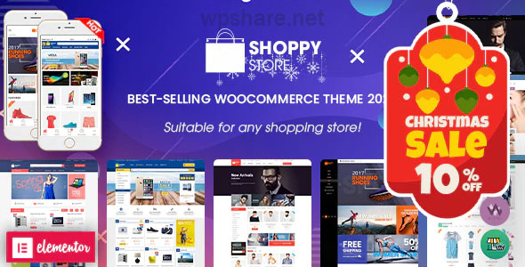 ShoppyStore – Multipurpose Elementor WooCommerce WordPress Theme v3.6.4