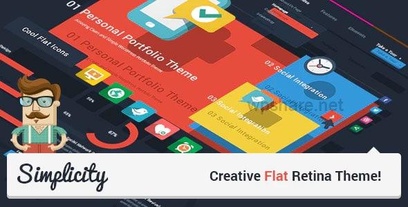 Simplicity 2.1 – Creative Flat Retina Theme