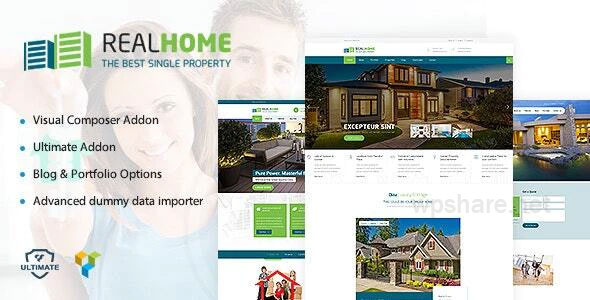 Single Property WordPress v1.9
