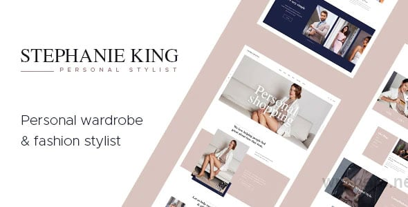 S.King 1.3.1 – Personal Stylist and Fashion Blogger WordPress Theme