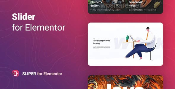 Sliper 1.0 – Full-screen Slider for Elementor