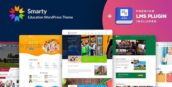 Smarty 3.4.7 – School Kindergarten WordPress theme