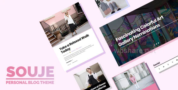 Souje v5.0 – Personal WordPress Blog Theme