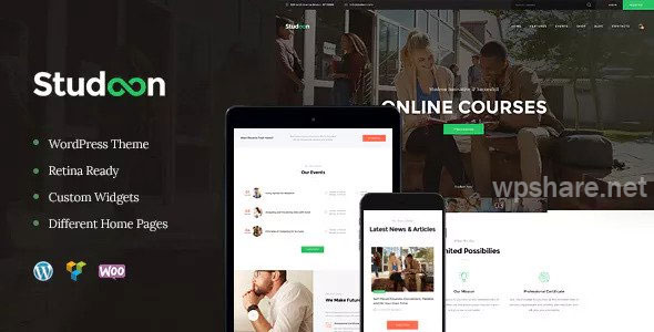 Studeon v1.1.5 – An Education Center & Training Courses WordPress Theme