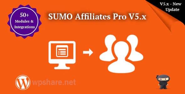 SUMO Affiliates Pro 7.3 – WordPress Affiliate Plugin