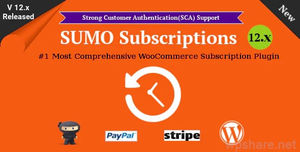 SUMO Subscriptions 12.7 – WooCommerce Subscription System