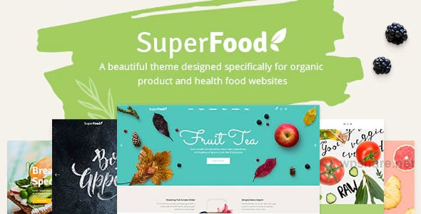 Superfood 1.3.1 – Organic Food Products Theme