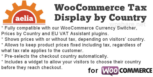 Tax Display by Country for WooCommerce v1.15.10.210406
