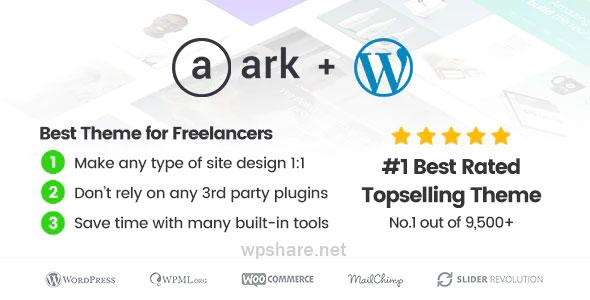 The Ark 1.54.0 – WordPress Theme made for Freelancers