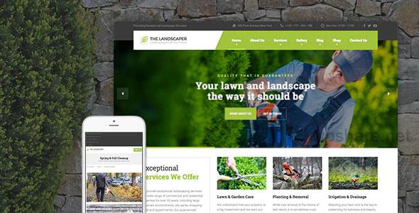 The Landscaper v2.4.2 – Lawn & Landscaping WP Theme