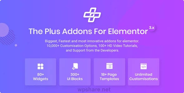 The Plus 4.1.3 – Addon for Elementor Page Builder WordPress Plugin
