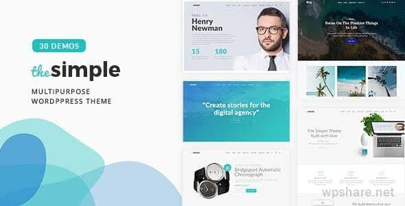 The Simple 2.5.9 – Business WordPress Theme