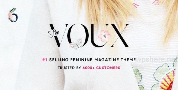 The Voux v6.7.2 – A Comprehensive Magazine WordPress Theme