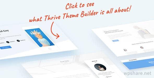 ThriveThemes – Thrive Theme Builder v2.5.3