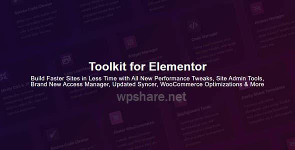Toolkit for Elementor 1.2.2 – Addons for Elementor