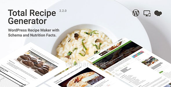 Total Recipe Generator 2.3.2 – WordPress Recipe Maker with Schema and Nutrition Facts