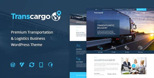Transcargo 2.5 – Logistics & Transportation WP Theme