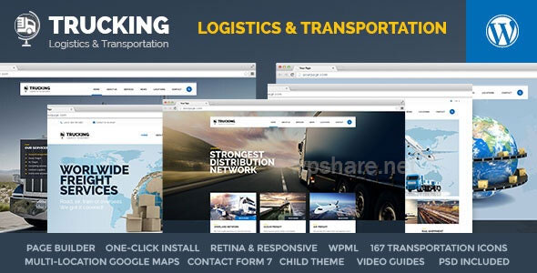 Trucking 1.5.3 – Transportation & Logistics WordPress