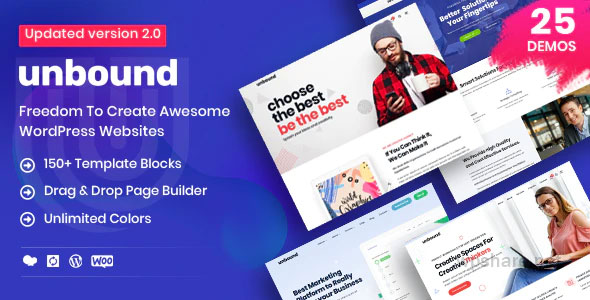 Unbound 2.1.4 – Business Agency Multipurpose Theme