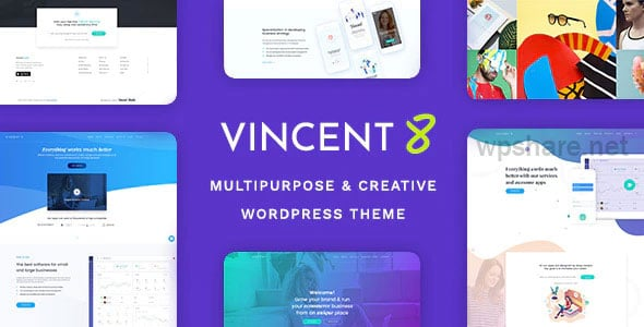 Vincent Eight 1.10 – Responsive Multipurpose WordPress Theme