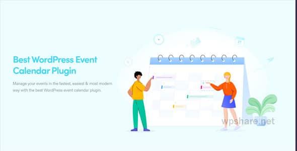 Webnus – Modern Events Calendar Pro 5.22.3 – Responsive Event Scheduler & Booking For WordPress + Add-Ons
