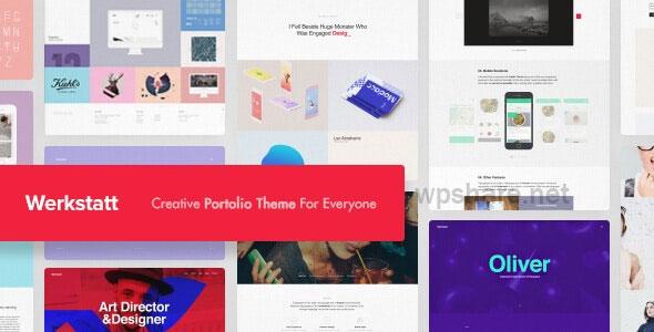 Werkstatt 4.6.3.3 – Creative Portfolio WordPress Theme