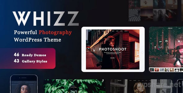 Whizz 2.1.9 – Responsive Photography WordPress Theme