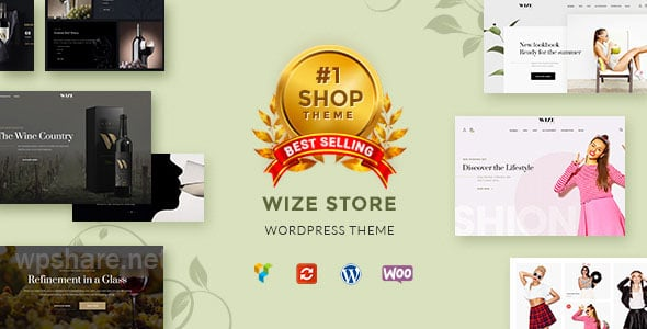WizeStore v1.14.3 – Multipurpose WooCommerce Shop