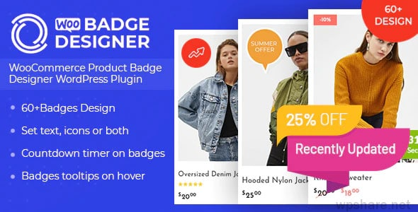 Woo Badge Designer 3.0.6 – WooCommerce Product Badge Designer